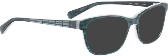 BELLINGER FLOW sunglasses in Green Pattern