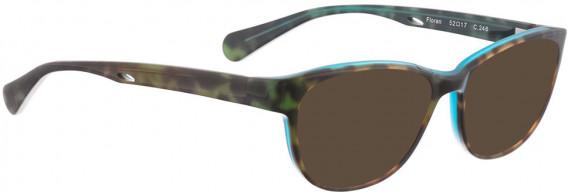BELLINGER FLORAN sunglasses in Brown Pattern