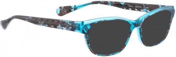 BELLINGER FERN sunglasses in Turquoise Pattern