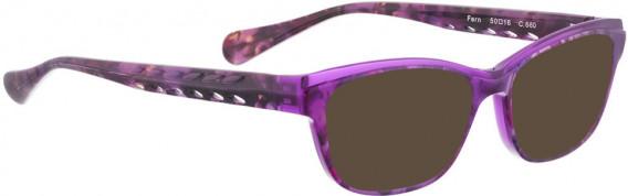 BELLINGER FERN sunglasses in Purple