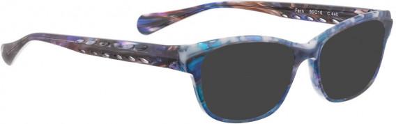BELLINGER FERN sunglasses in Blue Pattern