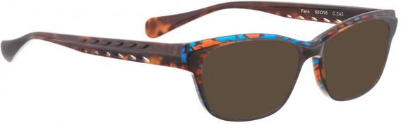 BELLINGER FERN sunglasses in Brown Blue Pattern