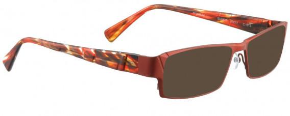 BELLINGER EDGE-1 sunglasses in Matt Red