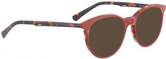 BELLINGER DROP sunglasses in Red