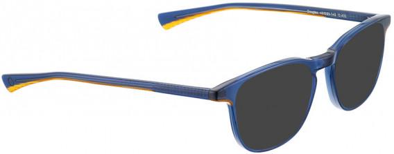 BELLINGER DOUGLAS sunglasses in Blue Transparent