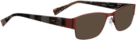 BELLINGER DITZEL sunglasses in Burgundy