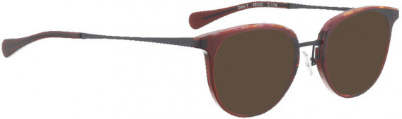 BELLINGER DEFY-1 sunglasses in Red