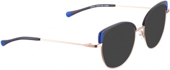 BELLINGER CROWN-4 sunglasses in Shiny Rose/Blue