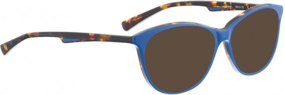 BELLINGER CLEAR sunglasses in Blue