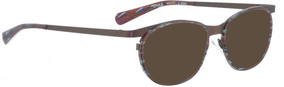 BELLINGER CIRCLE-8 sunglasses in Purple