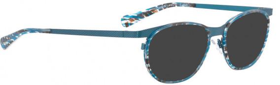 BELLINGER CIRCLE-8 sunglasses in Light Blue