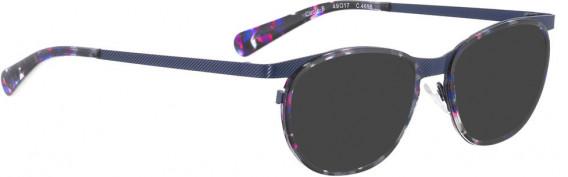 BELLINGER CIRCLE-8 sunglasses in Dark Blue