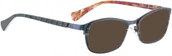 BELLINGER CIRCLE-4 sunglasses in Metallic Blue Green