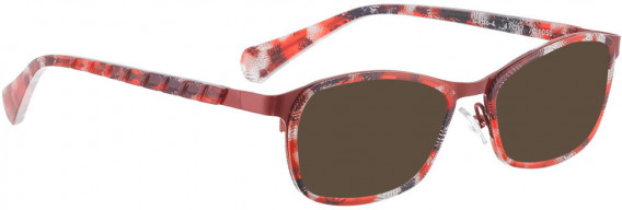 BELLINGER CIRCLE-4 sunglasses in Red Pattern