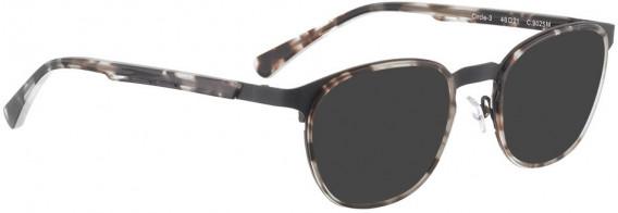 BELLINGER CIRCLE-3 sunglasses in Black Light Tortoise