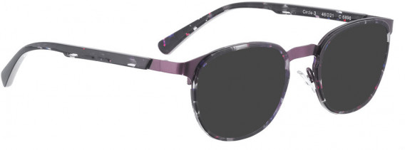 BELLINGER CIRCLE-3 sunglasses in Purple Pattern