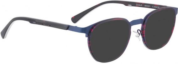 BELLINGER CIRCLE-3 sunglasses in Blue Pattern