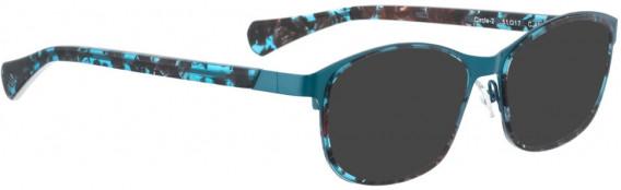 BELLINGER CIRCLE-2 sunglasses in Light Blue
