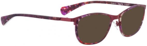 BELLINGER CIRCLE-1 sunglasses in Purple