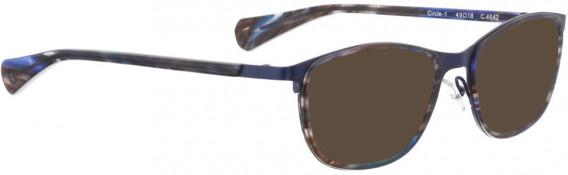 BELLINGER CIRCLE-1 sunglasses in Blue