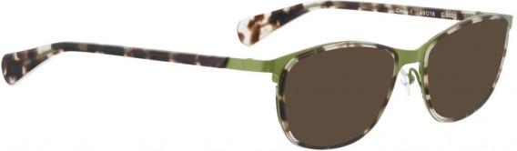 BELLINGER CIRCLE-1 sunglasses in Green