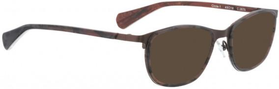 BELLINGER CIRCLE-1 sunglasses in Brown
