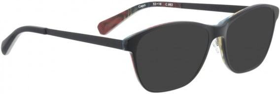 BELLINGER CAPRI sunglasses in Black