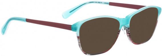 BELLINGER CAPRI sunglasses in Turquoise