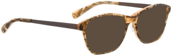 BELLINGER CAPRI sunglasses in Brown Pattern