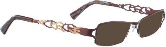 BELLINGER CAMOUFLAGE-2 sunglasses in Aubergine