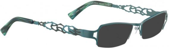 BELLINGER CAMOUFLAGE-2 sunglasses in Petroleum Blue