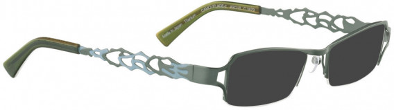 BELLINGER CAMOUFLAGE-2 sunglasses in Ocean Green