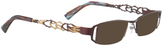 BELLINGER CAMOUFLAGE-1 sunglasses in Aubergine