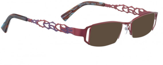 BELLINGER CAMOUFLAGE-1 sunglasses in Red Berry