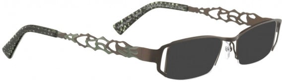 BELLINGER CAMOUFLAGE-1 sunglasses in Chocolate Brown