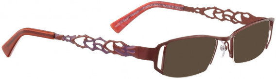 BELLINGER CAMOUFLAGE-1 sunglasses in Shiny Red
