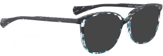 BELLINGER BROWS-5 sunglasses in Blue Pattern