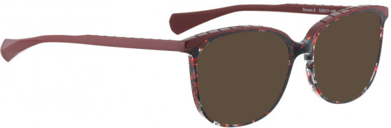 BELLINGER BROWS-5 sunglasses in Red Pattern