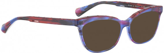 BELLINGER BROWS-2 sunglasses in Blue Purple
