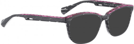 BELLINGER BROWS-1 sunglasses in Dark Grey