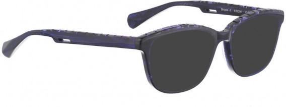 BELLINGER BROWS-1 sunglasses in Dark Purple