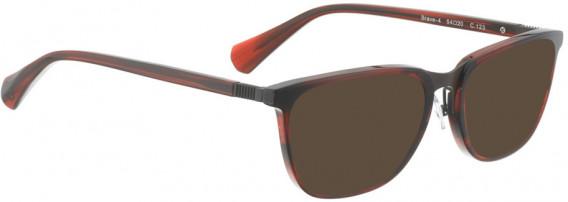BELLINGER BRAVE-4 sunglasses in Dark Red