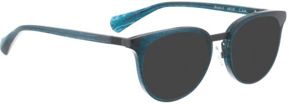 BELLINGER BRAVE-3 sunglasses in Blue Pattern