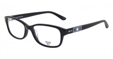Anna Sui AS614 Glasses in Black