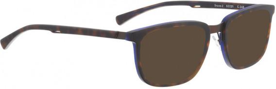 BELLINGER BRAVE-2 sunglasses in Brown Pattern