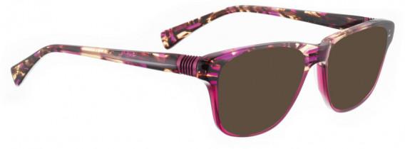 BELLINGER BOUNCE-20 sunglasses in Brown/Purple Acetate Mix