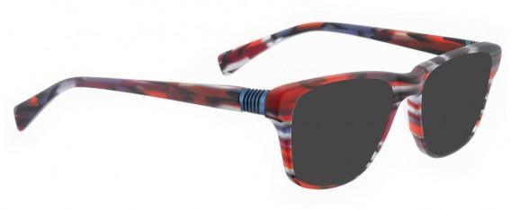 BELLINGER BOUNCE-20 sunglasses in Matt Red Pattern