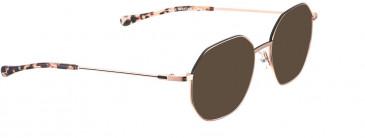 BELLINGER BOLD-X sunglasses in Rose Gold