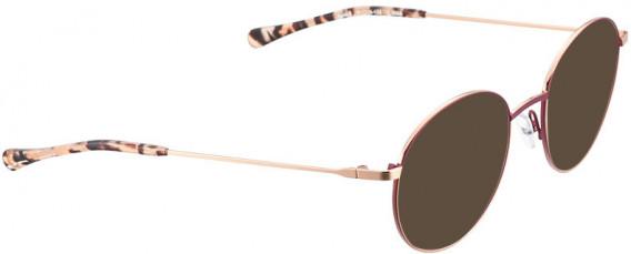 BELLINGER BOLD-8 sunglasses in Aubergine