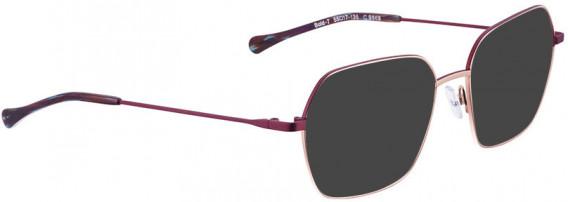 BELLINGER BOLD-7 sunglasses in Rose Gold